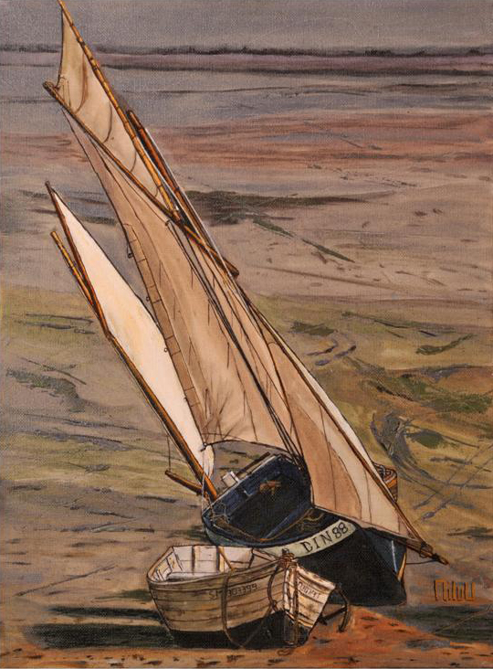 Le voilier sur la plage - 400 Euros