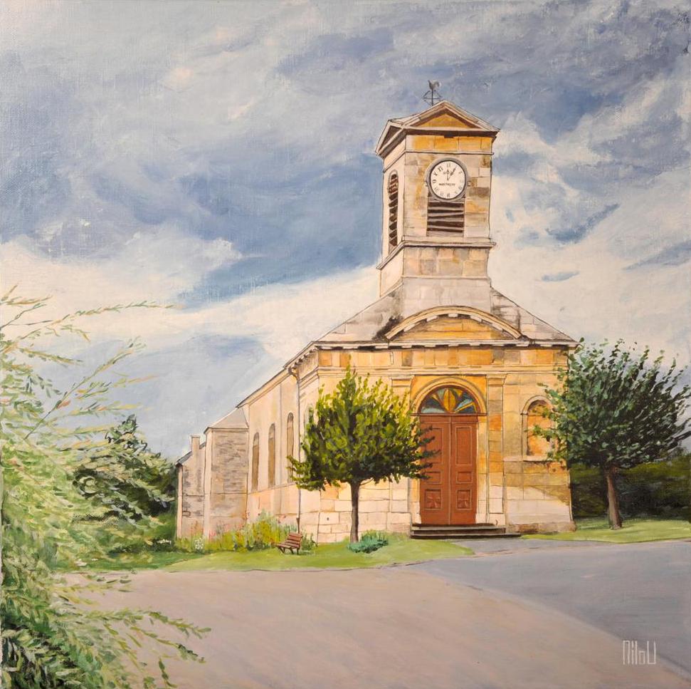 Fresnois : l'église - 180 Euros