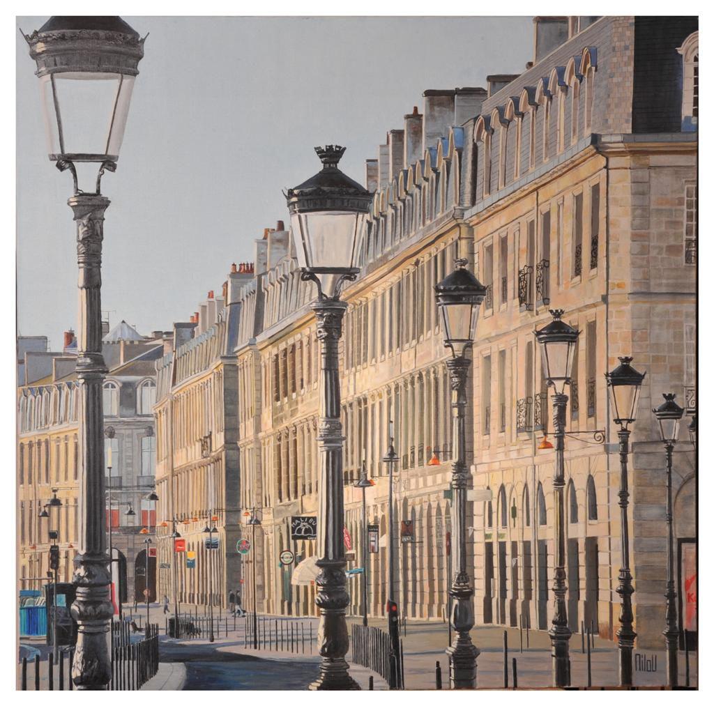 Bordeaux, le matin - INDISPONIBLE