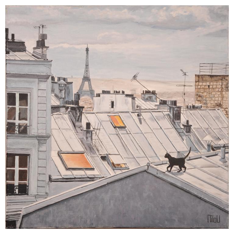 Le chat sur le toit - 250 Euros
