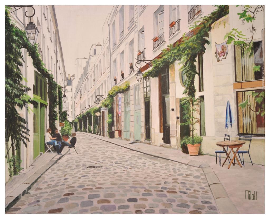 Rue parisienne - 280 Euros