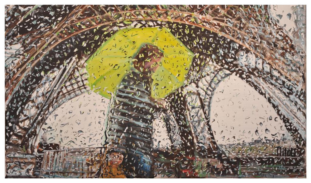Paris sous la pluie -  INDISPONIBLE