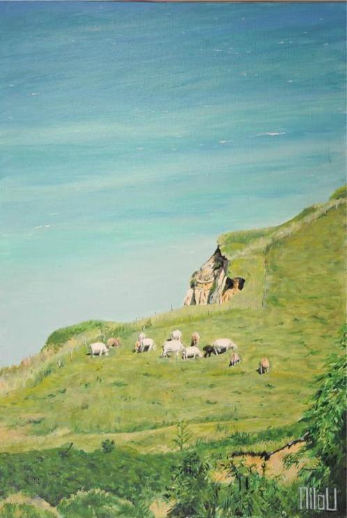 La falaise aux vaches - 180 Euros