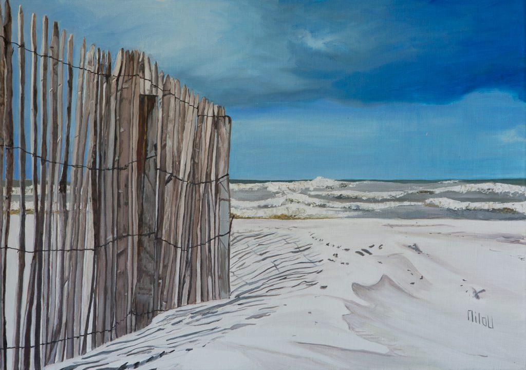 Barrière de plage au Touquet - INDISPONIBLE