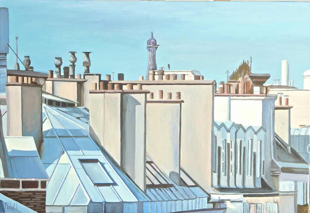 Toits de Paris n°2 INDISPONIBLE